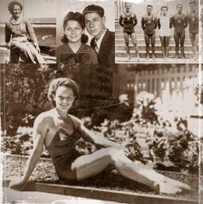 Algumas fotos de Nora na juventude.