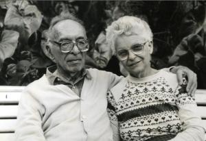 Nora e o marido Paulo.