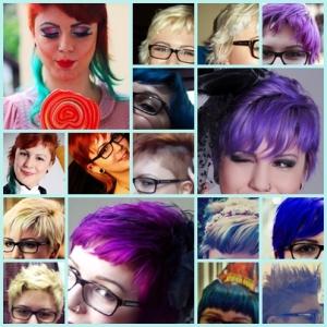 Retrospectiva dos meus cabelos em 2013.